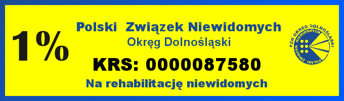 Ulotka 1% z KRSem Okręgu Dolnośląskiego