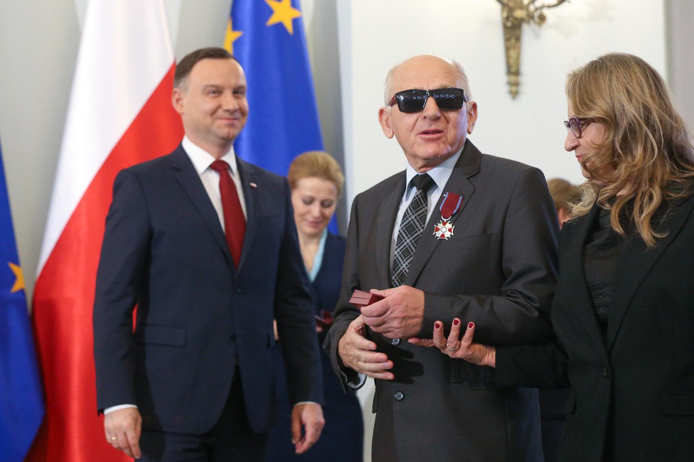 """Jubileusz 65-lecia Polskiego Związku Niewidomych """"W Służbie Pokoleń"""" (fot. Grzegorz Jakubowski / KPRP)/www.prezydent.pl"""