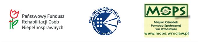 Logo pfron, logo PZN OD, Logo MOPS