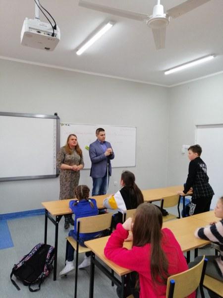 Prelekcja w szkole