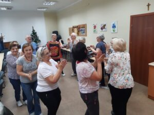 Klub seniora - zajęcia taneczne